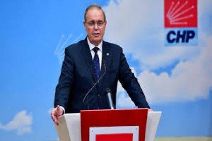 CHP Sözcüsü Öztrak 13.30'da basın açıklaması yapacak