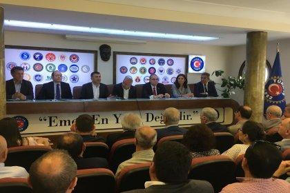 CHP Ekonomi Masası'ndan TÜRK-İŞ'e ziyaret