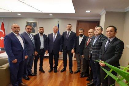 CHP Sultanbeyli ilçe yönetiminden İBB Genel Sekreteri Yavuz Erkut'a ziyaret