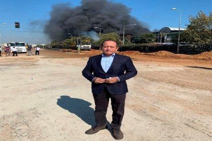CHP'li Hamzaçebi Tuzla'daki yangın bölgesinde