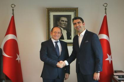 CHP'li Hamzaçebi ve Sarı'dan Kartal Belediye Başkanı Yüksel'e ziyaret