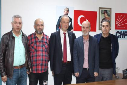 CHP'nin Avcılar adayı Turan Hançerli, Sendika Başkanları ile bir araya geldi