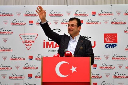 CHP'nin İstanbul Adayı Ekrem İmamoğlu 5 Mart'ta Kağıthane'de halkla buluşacak