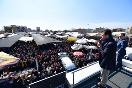 CHP'nin İstanbul Büyükşehir adayı İmamoğlu: Sizi 19. yüzyılın aklıyla yönetmek haksızlık