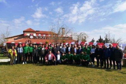 CHP'nin Kırklareli adayı Mehmet Tuna Soykan, Kırklarelispor'la kahvaltıda buluştu