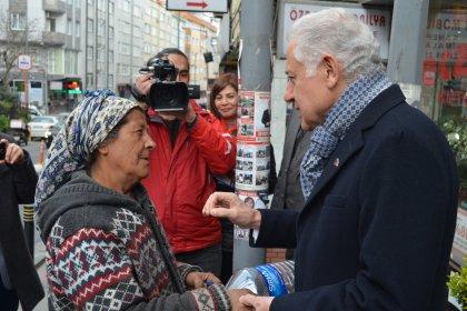 CHP'nin Şişli adayı Keskin'den Mecidiyeköy ve Gülbahar Mahallelerine ziyaret