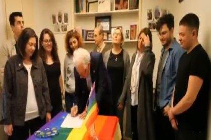 CHP'nin Şişli Adayı Muammer Keskin, LGBTİ Dostu Belediyecilik protokolünü imzaladı