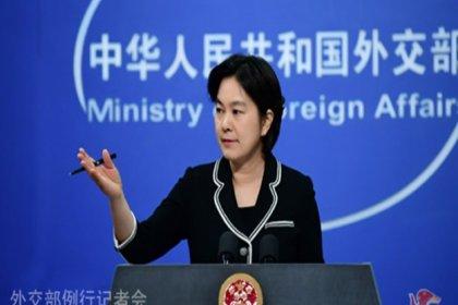 Çin'den ABD'ye tepki: 'İç işlerimize karışma'