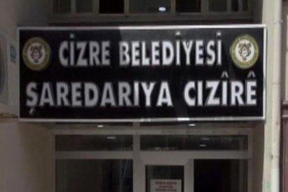 Cizre Belediyesi'ne kayyum atandı