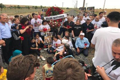 Çorlu tren faciasının 1. yılında kaybettiğimiz 25 canımız olayın gerçekleştiği Sarılar köyünde anıldı