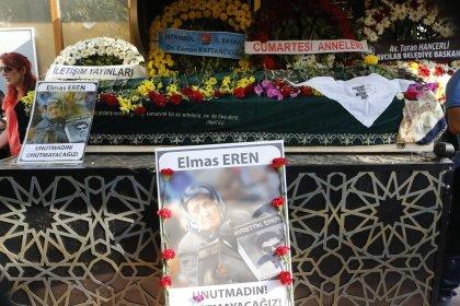 Cumartesi Annesi Elmas Eren, son yolculuğuna uğurlandı