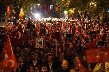 Cumhuriyetin 96. yılı Kartal, Maltepe ve Kadıköy'de coşkuyla kutlandı