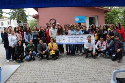 ÇYDD Alihocalı Köyü'nde çocuklarla buluştu