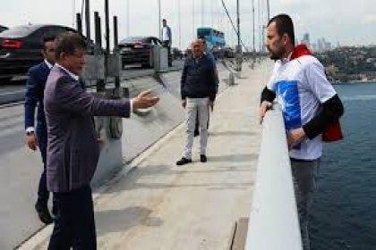 Davutoğlu'ndan köprüdeki intihar girişimiyle ilgili açıklama