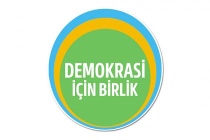 Demokrasi İçin Birlik'in etkinliğine kaymakamlık yasağı
