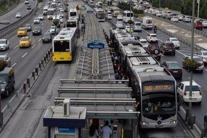 Depremin ardından metrobüs seferlerine düzenleme