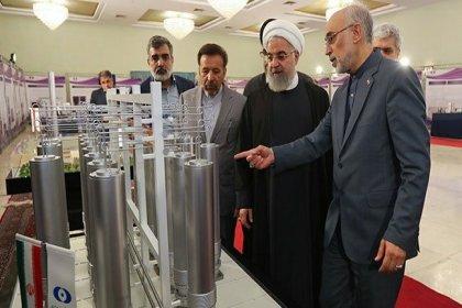 Devrim Muhafızları'nı terör örgütü olarak tanıyan ABD'ye Ruhani'den tepki: Baskı sürerse IR8 santrifüjü üretiriz