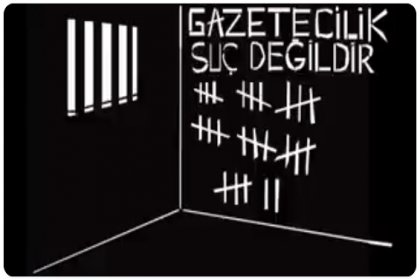 Dışarıdaki Gazetecilerden İçerideki Gazetecilere #GazetecilereMektup yaz kampanyası başladı