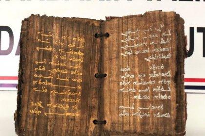Diyarbakır'da bin 300 yıllık olduğu tahmin edilen kitap ele geçirildi