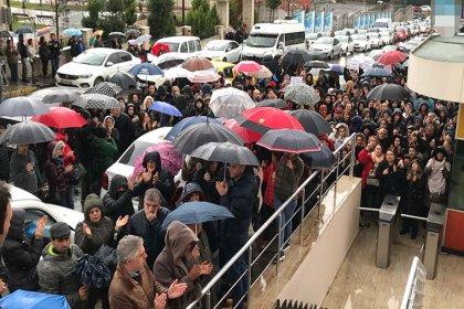 Doğa Koleji velilerinden protesto: Öğretmenlerimizin maaşını verin