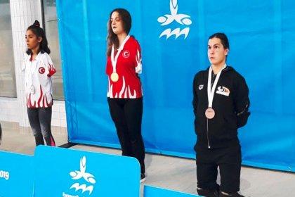 Dünya Paralimpik Yüzme Şampiyonası'nda Sevilay Öztürk, bronz madalyanın sahibi oldu