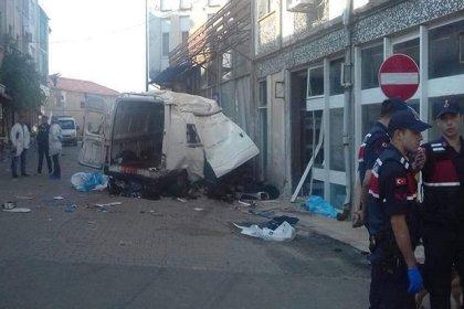 Edirne'de katliam gibi kaza: 10 kişi hayatını kaybetti, 30 yaralı
