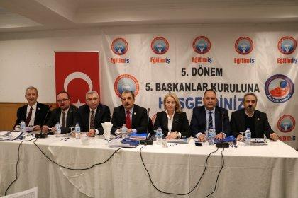Eğitim İş 5. Başkanlar Kurulu Ankara'da yapıldı