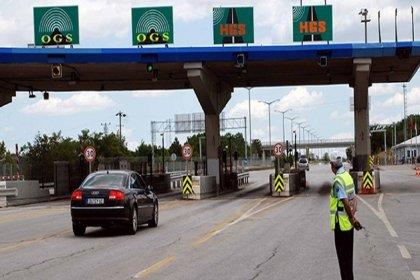 'Ekonomide çarkların yavaşlaması nedeniyle köprü ve otoyol geçişleri yüzde 17 azaldı'