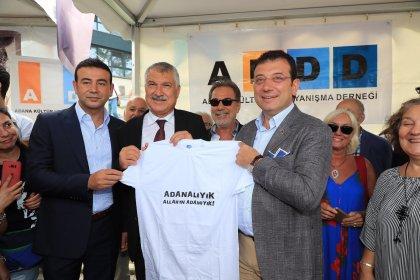 Ekrem İmamoğlu Adanafest'te konuştu: Omuz omuzayız, bir aradayız