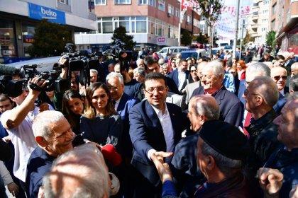 Ekrem İmamoğlu Kartal ve Çekmeköy'de halkla buluşuyor