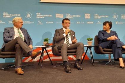 Ekrem İmamoğlu C40 Belediye Başkanları Zirvesi'ne katıldı