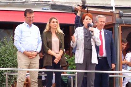 Ekrem İmamoğlu Çatalca'da Meral Akşener ve Mansur Yavaş'la birlikte miting yaptı