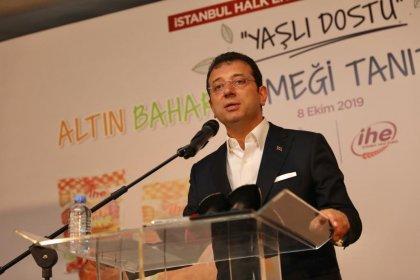 Ekrem İmamoğlu Halk Ekmek'in yeni ürünü 'Altın Bahar'ı tanıttı