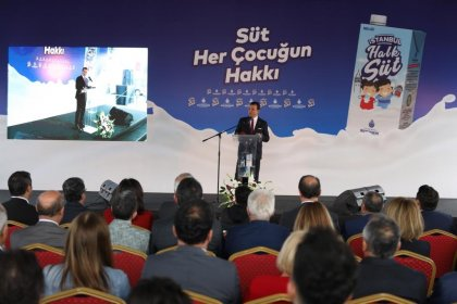 Ekrem İmamoğlu Halk Süt Projesini tanıttı: 16 milyon İstanbulluya verdiğimiz sözleri bir bir yerine getireceğiz