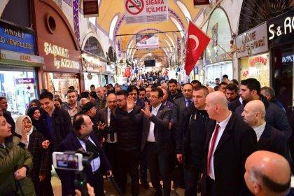 CHP'nin İstanbul Adayı Ekrem İmamoğlu: İstanbul iyi yönetilirse Türkiye'nin yükü hafifler