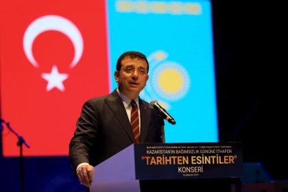 Ekrem İmamoğlu Kazakistan Cumhuriyeti'nin 28. bağımsızlık yıl dönümünde konuştu: Çağdaş dünyanın, iki çağdaş yüzü olmalıyız
