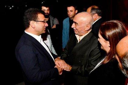 Ekrem İmamoğlu, Şener Şen'in oynadığı 'Zengin Mutfağı'nı izledi