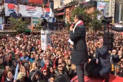 Ekrem İmamoğlu son mitingini Beşiktaş'ta yaptı: Yarın yeni bir başlangıç olacak, kuşkunuz olmasın çok güzel işler başaracağız