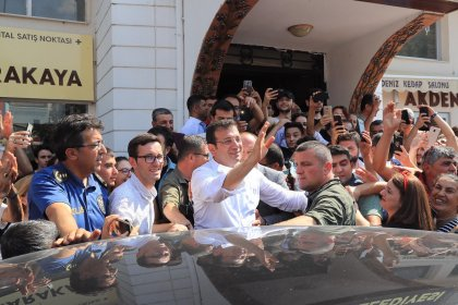 Ekrem İmamoğlu'ndan Avanos ziyareti