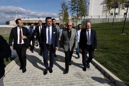 Ekrem İmamoğlu'ndan Büyük Çamlıca Camii ziyareti
