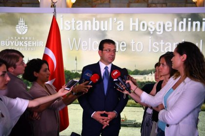 Ekrem İmamoğlu'ndan İBB'deki istifalarla ilgili açıklama
