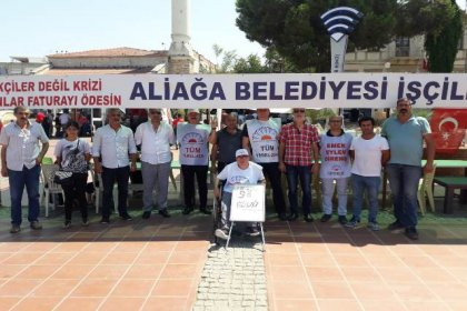 Engelli sendikacıdan Aliağa işçilerine destek