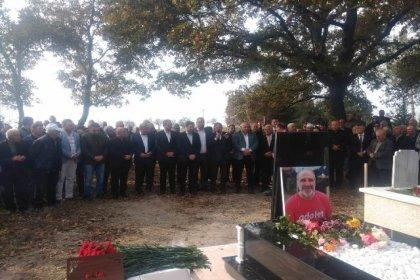 Erdin Bircan ölümünün 1. yılında kabri başında anıldı