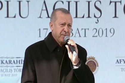 Erdoğan: Dörtlü çete Cumhur İttifakı'na karşı birleşiyor