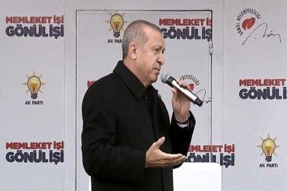 Erdoğan: Ekonomi silahını üzerimizden hiç eksik etmediler