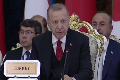 Erdoğan: Kudüs'te yeni oldubittiler oluşturma gayretlerini reddediyoruz