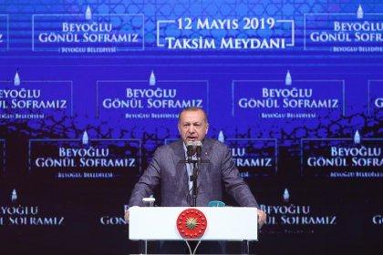 Erdoğan, 'Siyaset meydanı, er meydanıdır'