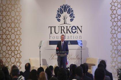 Erdoğan TÜRKEN Vakfı'nda konuştu: FETÖ'nün ipliğini tüm dünyada pazara çıkarmakta kararlıyız