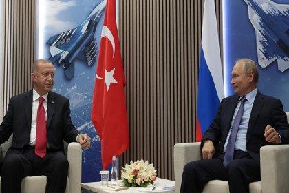 Erdoğan ve Putin Soçi'de bir araya geldi