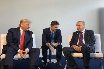 Erdoğan ve Trump NATO Zirvesi'nde bir araya geldi